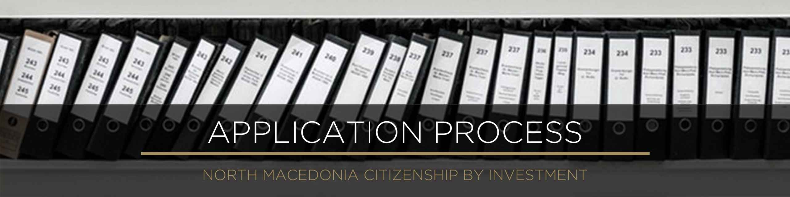 How to apply for North Macedonian citizenship - Application and Due Diligence Process